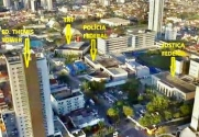 SALA COMERCIAL MOBILIADA NO THEMIS TOWER. - Foto